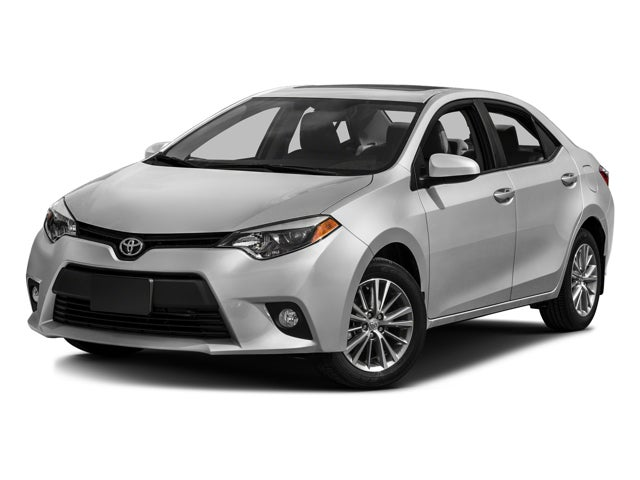 2016 Toyota Corolla 4dr Sdn Cvt Le In Knightdale Nc Leith Of Wendell