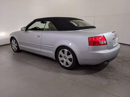 used 2004 audi a4 wendell clayton nc wauat48h24k005270 2004 audi a4 2004 2dr cabriolet 3 0l cvt