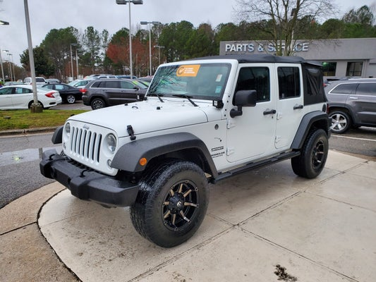 Used Jeep Wrangler Parts >> 2016 Jeep Wrangler Unlimited 4wd 4dr Sport